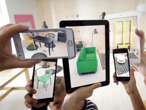 Ikea's Augmented Reality Catalog Lets You Virtually Demo Its Furniture In Your Living Room | Experience Innovation | Scoop.it