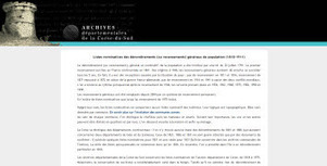 Archives 2 A, les recensements de la Corse du sud sont en ligne. | Archivesenlignes | Archives de la Rochelle, les recensements de populations 1801 1911 sont en ligne. | Scoop.it