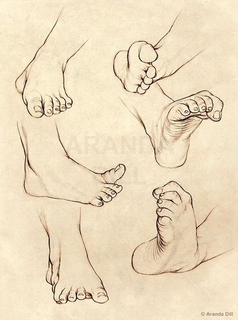 Six Feet Drawing reference for artists | VIDA Y MOVIMIENTO | Scoop.it
