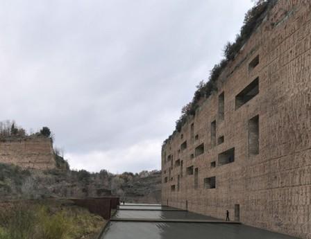 [Civita Castellana, near Viterbo, Italy] New Cliffside Residential Complex Proposal / Romano Adolini Architetto | The Architecture of the City | Scoop.it