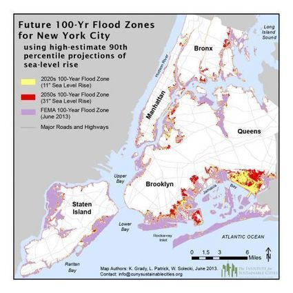 Is NYC's Climate Plan Enough to Win the Race Against Rising Seas? | InsideClimate News | Sustain Our Earth | Scoop.it