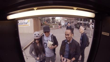 Le meilleur stunt jamais réalisé avec un distributeur automatique | streetmarketing | Scoop.it