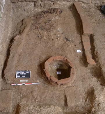 Les vestiges du moule à cloche de l'église   Archéologie de l'église ...   Chroniques d'antan et d'ailleurs   Scoop.it