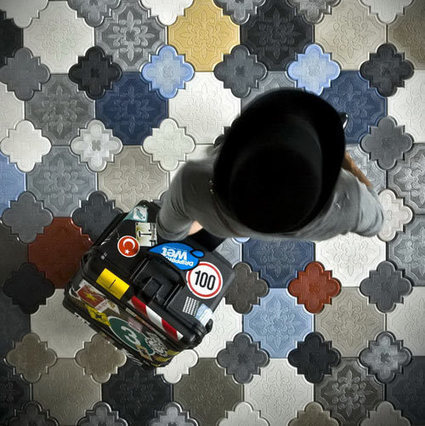 Camelion Floor Tiles by IVANKA | Art Decoration Design | Concrete.Network | Scoop.it