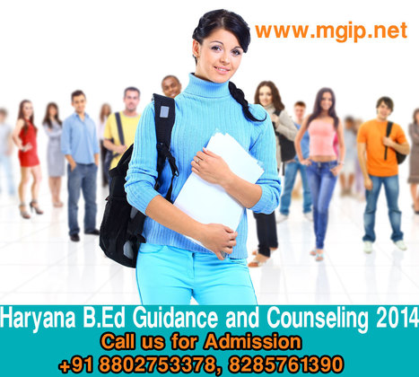 Haryana B.Ed Guidance & Counseling for 2014 Admission | MDU B.Ed Admission Updates 2014-15 | Scoop.it