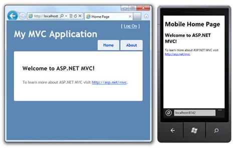 New Mobile View Engines for ASP.NET MVC 3, spec-compatible with ASP.NET MVC 4 - Scott Hanselman | Asp.Net MVC 3 | Scoop.it