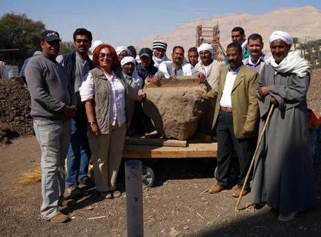 Des parties manquantes des colosses de Memnon retrouvées | Égypt-actus | Scoop.it