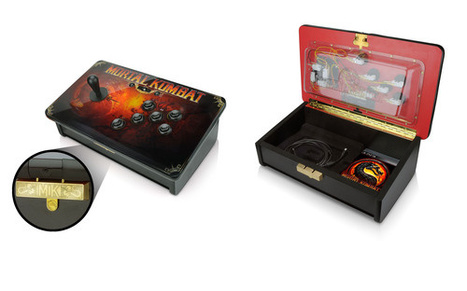 Designer Makes An American Fighting Stick For An American Fighting Game | All Geeks | Scoop.it