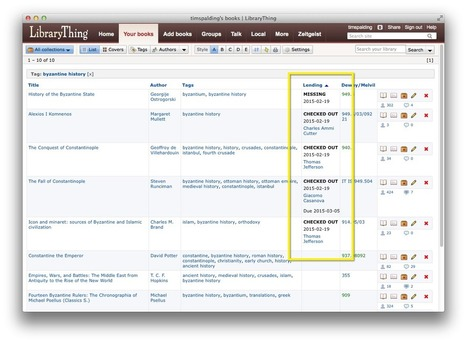 "New Feature: Lending (a.k.a. ""Circulation"") « The LibraryThing Blog 