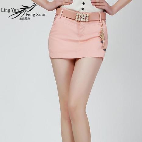 凌云凤轩OL气质短裙裤夏女韩版显瘦短裤女假两件修身热裤LY8079 | 非常时尚网 | 非常时尚 | Scoop.it