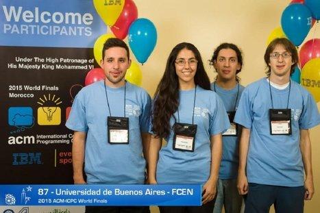 El equipo de la UBA le gana a Stanford y Princeton en el Mundial de Programación | LabTIC - Tecnología y Educación | Scoop.it