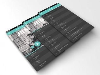 41 Music App UI Design Concepts For IOS | Web design | Scoop.it