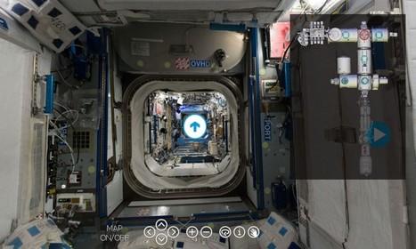ISS: embarquez pour une visite inédite dans la Station spatiale internationale | ZeHub | Scoop.it