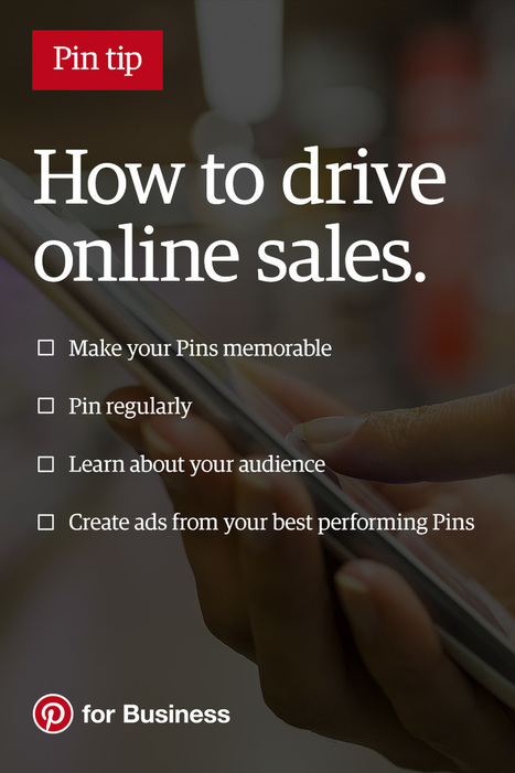 4 tips for driving online sales | Pinterest | Scoop.it