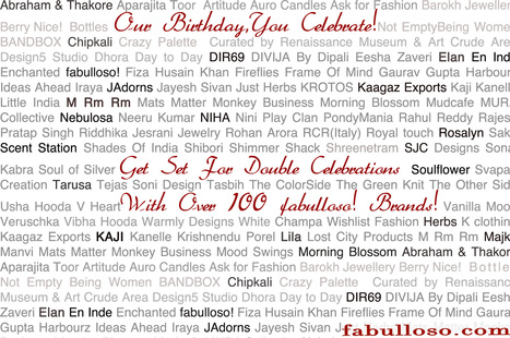Coming Up ~ The Big Anniversary SALE | fabulloso | Scoop.it