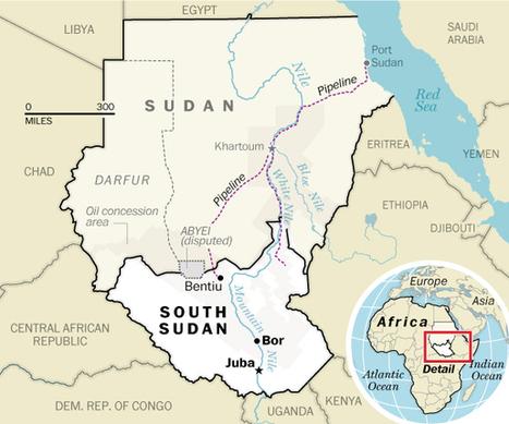 Zuid-Soedan in 9 vragen en antwoorden... | aardrijkskunde | Scoop.it