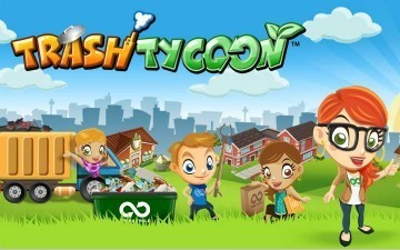 """Trash Tycoon"" Brings Eco-Responsibility to Social Gaming 