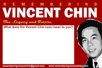 Remembering Vincent Chin: Postcard Project | Community Village Daily | Scoop.it