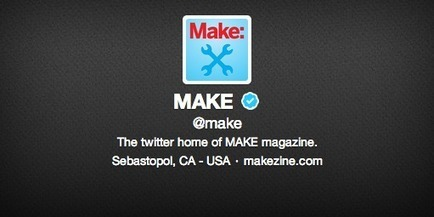 100 Makers You Should be Following on Twitter | Peer2Politics | Scoop.it