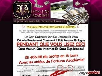 Fortune Académie – Apprenez Comment Faire Fortune Sur Internet… | Ebooks, Software and Downloads | Scoop.it