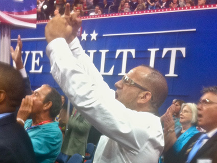 """Fuck You, Tyrants!"": Ron Paul Supporters Rebel On Convention Floor 