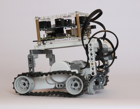 BrickPi Delivers the Mindstorms Experience to Raspberry Pi | Raspberry Pi | Scoop.it