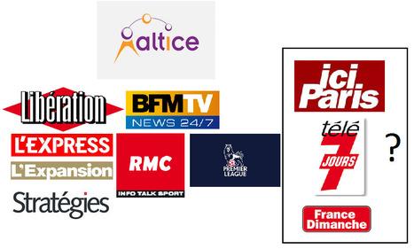 Altice Media candidat au rachat de Télé 7 Jours (Lagardère)   TV & TV Distribution   Scoop.it