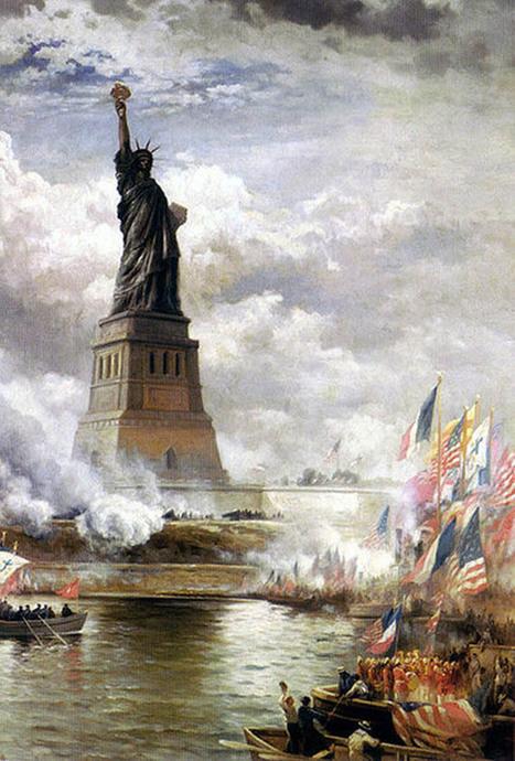 Evolution of New York City - Part 1 (1490-1900) | Look Ahead | Scoop.it