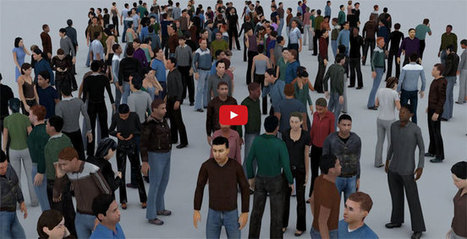 How to apply populate toolset to create numerous animated character in 3ds max | 3d information 2013 | Scoop.it