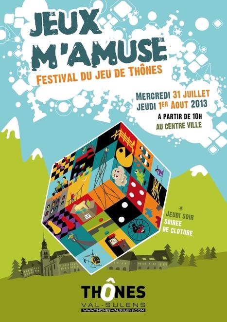 Festival du jeu à Thônes, JEUX M'amuse les 31 juillet et 1er août... | Festival du JEU à Thônes | Scoop.it
