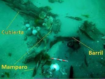 El pecio de Ribadeo: ¿un galeón mediterráneo del S. XVI? | Centro de Estudios Artísticos Elba | Scoop.it