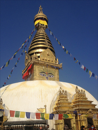 Swayambhunath Temple- Kathmandu, Nepal | Highest News | Scoop.it
