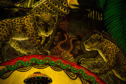 アマゾン・マジック - パブロ・アマリンゴ氏による作品の説明 / Supai Unai Tucuna(精霊の神話的な変化)on 龍宮拳 高木一行 Healing Network   Ayahuasca  アヤワスカ   Scoop.it
