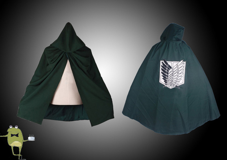 Attack on Titan Scouting Legion Survey Corps Cloak | Attack on Titan Cosplay Costumes | Scoop.it