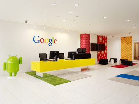 Great work space & culture = Happy people who stay.  (Pics of the new Google offices) | Bureaux inspirants | Scoop.it