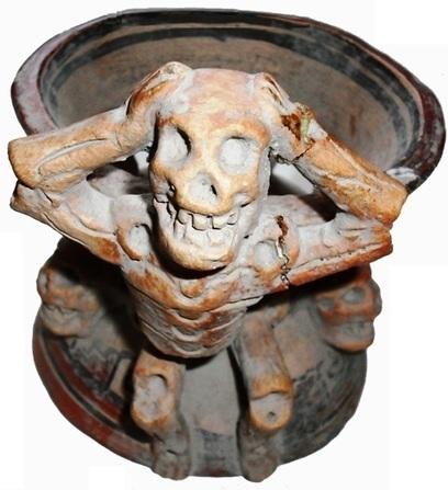 Copal Incense Burner. | La gran Tenochtitlán y sus fundadores los aztecas | Scoop.it