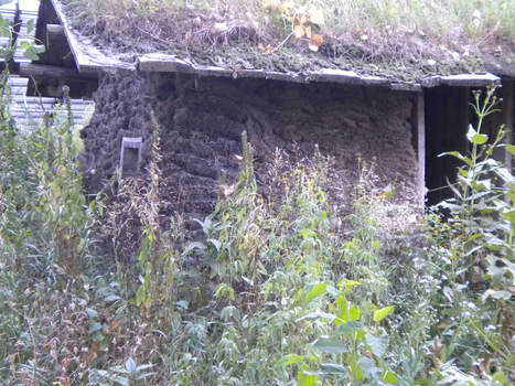 How to Build a Sod House | Eco-friendly roofs:  green, white, and garden | Scoop.it