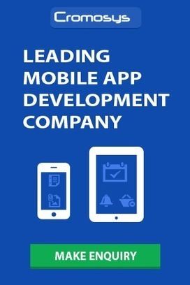 Cromosys Emerges as Leading iPhone App Development Company in USA - WhaTech | iPhone Application Developer | Scoop.it