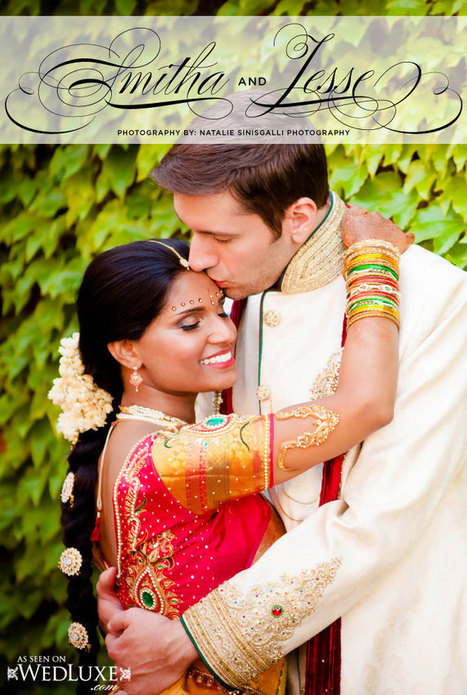 True Love, True Luxury: Smitha & Jesse | Cultural Rich Weddings | Scoop.it