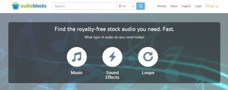 AudioBlocks, plataforma de recursos sonoros para incorporar en proyectos | Social Media 3.0 | Scoop.it