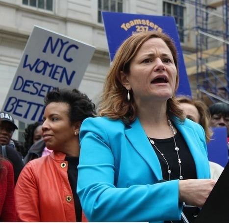 Melissa Viverito, Tish James, Lilly Ledbetter Rally for Equal Pay ... | Gender Equality | Scoop.it