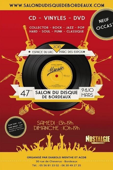 Salon du Disque de Bordeaux | Gironde | Actualités en Aquitaine | Aquitaine OnLine | Bordeaux : tourisme et art de vivre | Scoop.it