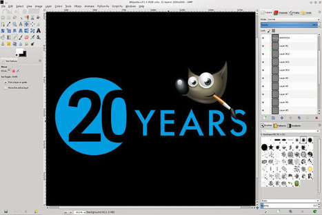 Veinte trucos para celebrar 20 años de GIMP | desdeelpasillo | Scoop.it