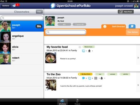 Se habla de... e-portafolios + iPad | iPad classroom | Scoop.it