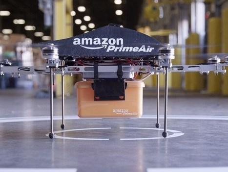 Les livraisons par drone : feu vert pour Amazon aux Etats-Unis | Mobile technology & Digital business | Scoop.it