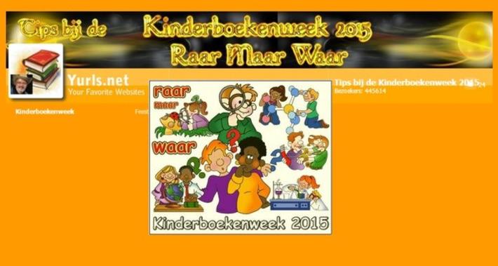 Edu-Curator: Yurls Tips bij de Kinderboekenweek 2015 'Raar Maar Waar' | Educatief Internet - Gespot op 't Web | Scoop.it