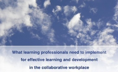 Traditional training structures are changing | Harold Jarche | Dave B's Collaboration in Organisations | Scoop.it