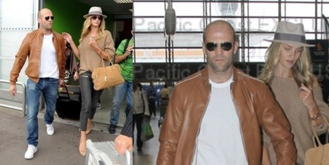 Rosie Huntington-Whiteley & Jason Statham a Nizza - Sfilate | fashion and runway - sfilate e moda | Scoop.it