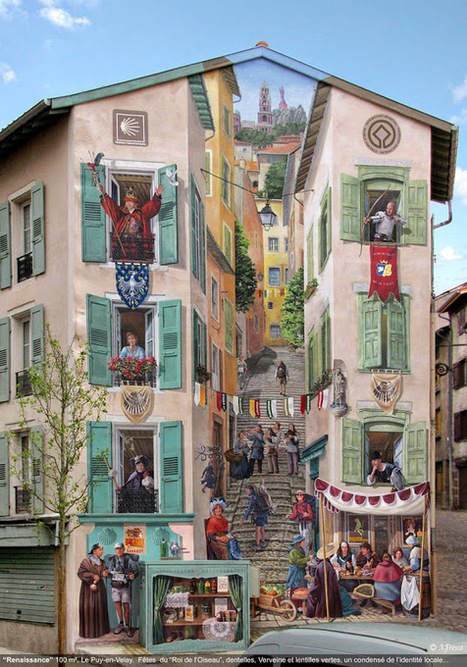 Fake Facades: Patrick Commecy's Clever Street Art | Amusing Planet | Emotional triggers | Scoop.it