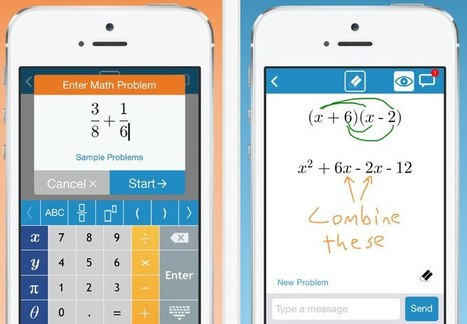 MathChat. Les maths entre amis | Time to Learn | Scoop.it